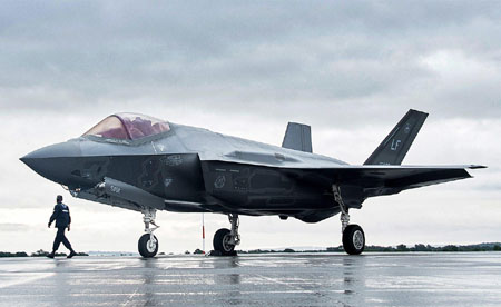 Reports: U.S. halts F-35 shipments to Turkey