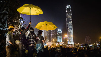 Hong Kong judge rules against 'umbrella protest' leaders: 'Civil disobedience is not a defense'