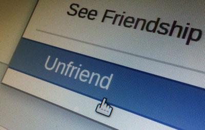 Lighten up: Survey finds lots of 'unfriending' going on; Democrats 47 percent 'more rage-happy'
