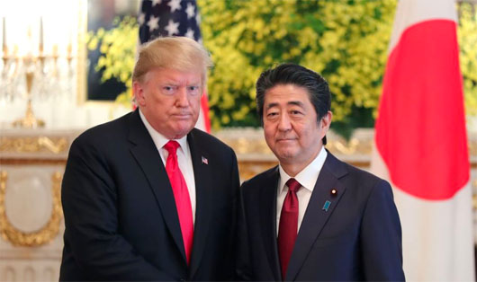 President Trump in Tokyo: U.S. wants nukeless Iran, not seeking regime change