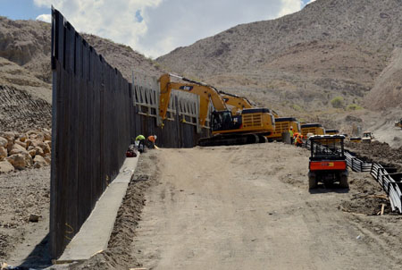 Update: Private border wall group hit with cease-and-desist order
