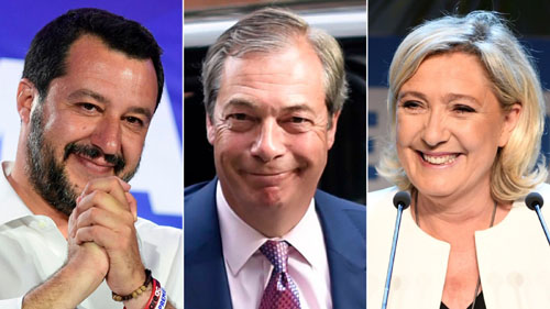 EU war of independence: Farage surges, Italy shocks, Merkel crisis