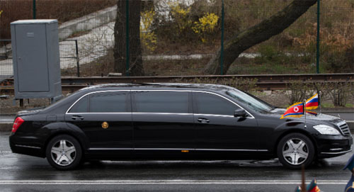 Daimler has no clue how Kim Jong-Un got its armored limousines