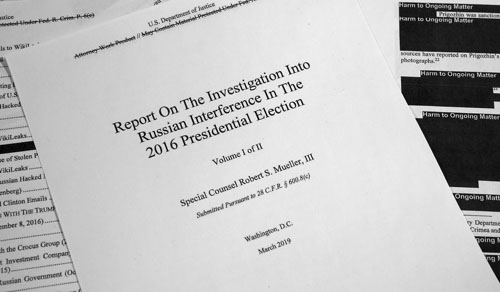 Mueller report relied on uncritical media, cited 60 NY Times articles