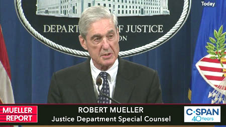Former prosecutors say Mueller statement violated American Bar Association rule