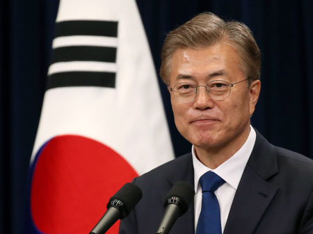 Online petition in South Korea presents bill of impeachment for President Moon Jae-In