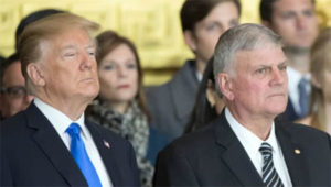 America on 'edge of a precipice': Franklin Graham calls day of prayer for the president