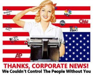 If they won't listen, just say no to the Corporate Media