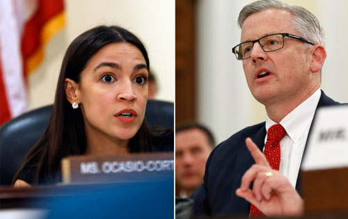 AOC puts out video saying she won debate with FBI on 'domestic terrorism'