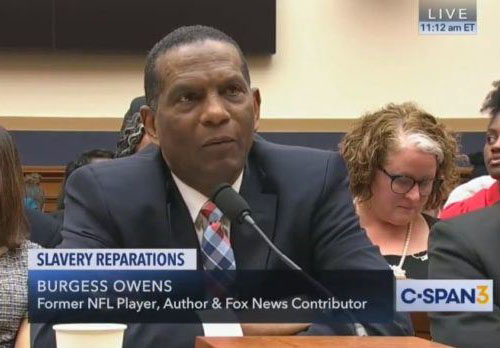 Burgess Owens: Democrats should pay restitution for 'all the misery they brought to my race'