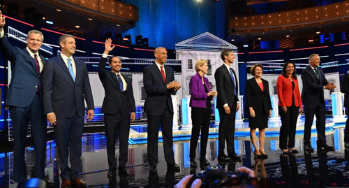 1st Dem debate: We monitored reports by those who watched so you wouldn't have to