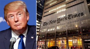 'Treason': President Trump hits NY Times for 'fake' reveal on cyber attacks targeting Russia
