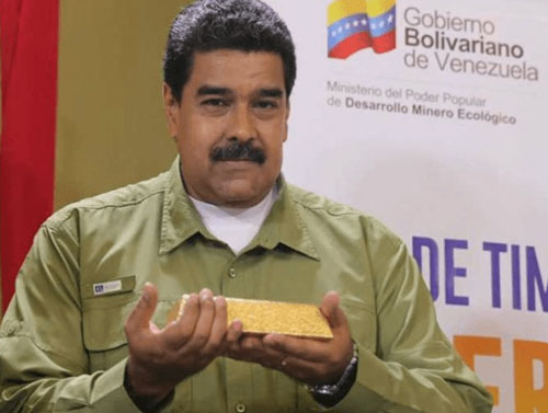 Report: Socialist Maduro selling off Venezuelan gold reserves in Africa
