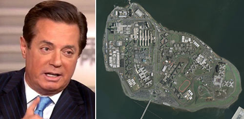 'No special treatment': Sending Manafort to Rikers 'possibly illegal' says Dershowitz