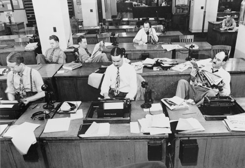 Considering a journalism career? Forget about it, professors advise
