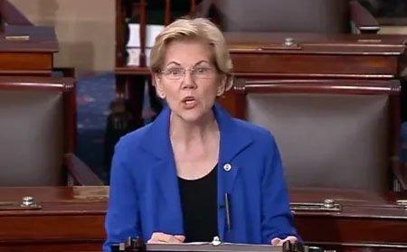 Elizabeth Warren introduces legislation for gay reparations