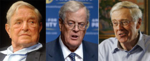 Koch Brothers to team up with Soros at high tech censorship summit