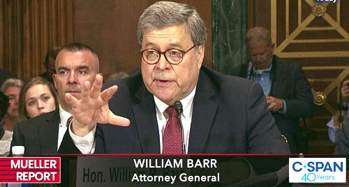Barr update: 'Facts I've learned don't hang together with the official explanations'