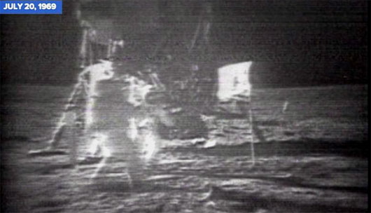 July 20, 1969: As America was torn apart back home, its astronauts landed on the Moon