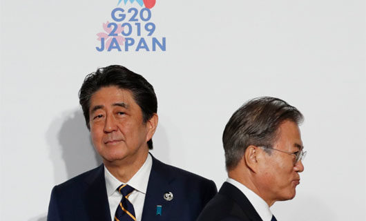 South Korea-Japan animosity risks strategic alliance