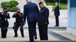 'Handshake summit': President Trump crosses the line yet again, this time Korea's DMZ
