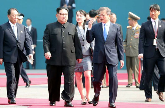 South Korea's president seeks to align his country with North Korea and against Japan