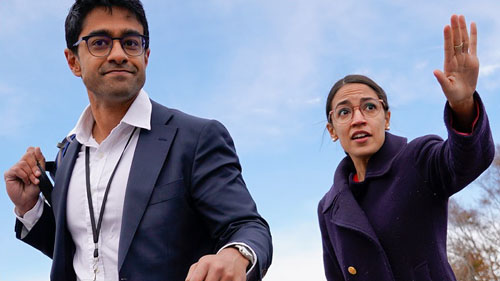 'Trust fund kid' uses parents' money to fuel AOC, transform Democrat Party