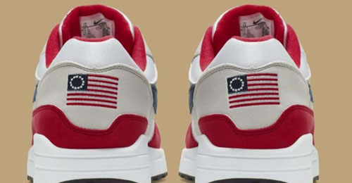 Nike axed Betsy Ross flag shoes but had no problem with China, Turkey flags