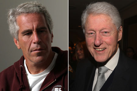 Bill Clinton, 'sadly', is not telling the truth, says reporter who broke Epstein story