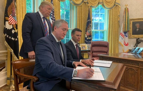 President prevails, finally see good news on border policies