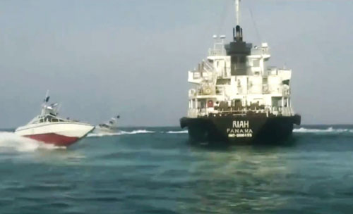 Iran seizes tanker owned by UAE in the Strait of Hormuz