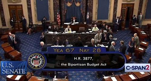 Swamp uber alles: Senate sends budget 'monstrosity' to White House
