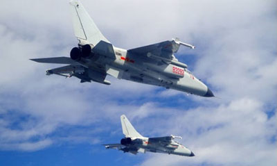 China's JH-7A challenged Japan warships in simulated attack near Senkakus