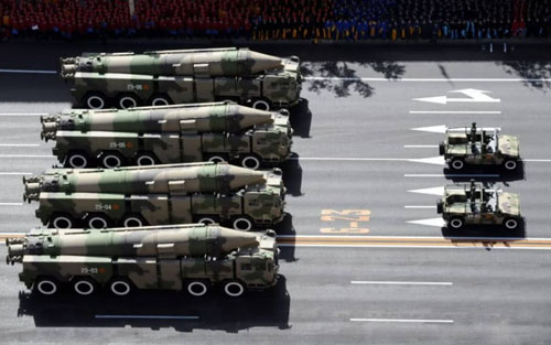 Rise of China, demise of INF seen prompting missile migration on world's chessboard