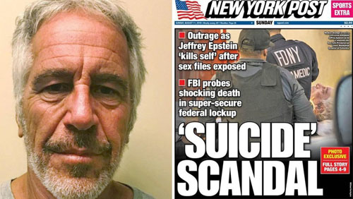Social media war ignited by Epstein death in Democratic NYC