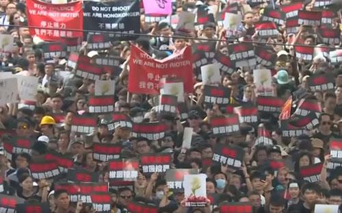 China turns to fake news as Hong Kong crisis enters 3rd month