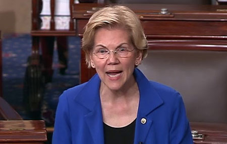Elizabeth Warren tweets that Michael Brown was 'murdered' in Ferguson