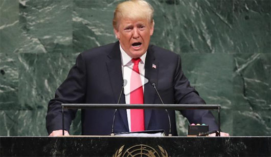 Trump at the UN: 'We will never surrender America's sovereignty to an unelected, unaccountable, global bureaucracy'