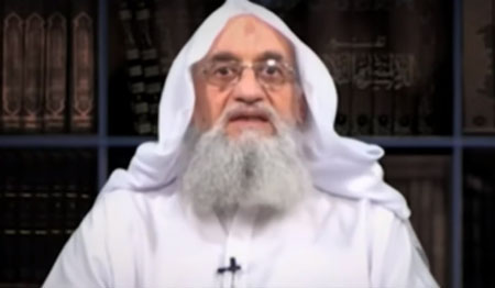 Zawahiri marks September 11 by calling for attacks on U.S., Israeli targets