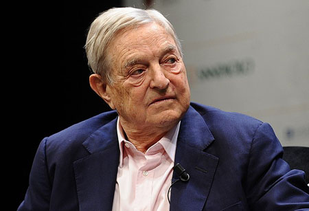 China's state media slams Soros for rare agreement with Trump vs Huawei