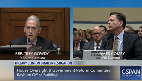 Comey wants an apology? 'When it snows in hell,' says Gowdy