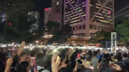 'God bless Hong Kong': Videos reveal role of Christian minority in mass protests