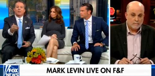 Levin levels Fox co-host over Trump transcript