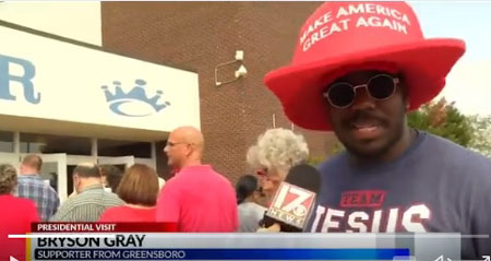 NC man told not to support Trump because he's black; 'I bought the biggest MAGA hat'