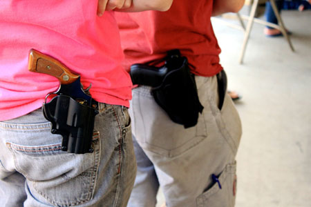 Walmart, Kroger, Walgreens ban open carry; Mum on additional security