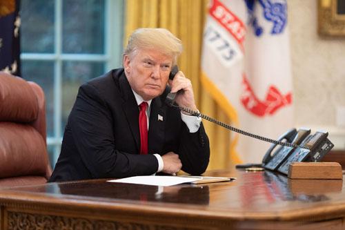 'Whistleblower' didn't hear what Trump allegedly said