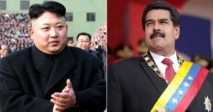 Meanwhile, North Korea and Venezuela sign military agreement