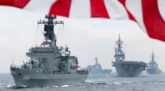 Japan won't join U.S. coalition; Will send own escort ships to Gulf