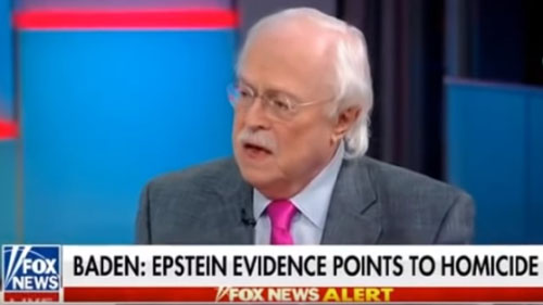 Epstein witnesses line up: 'Evidence points toward homicide'