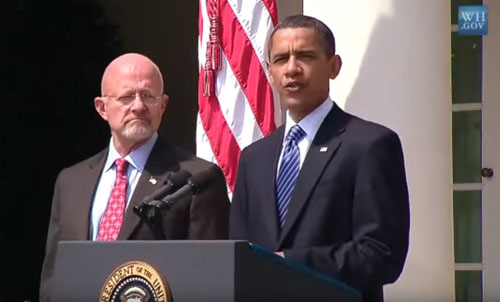 Clapper implicates Obama: We only did 'what we were told to do by the president'